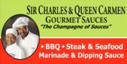 Sir Charles & Queen Carmen Gourmet Sauces