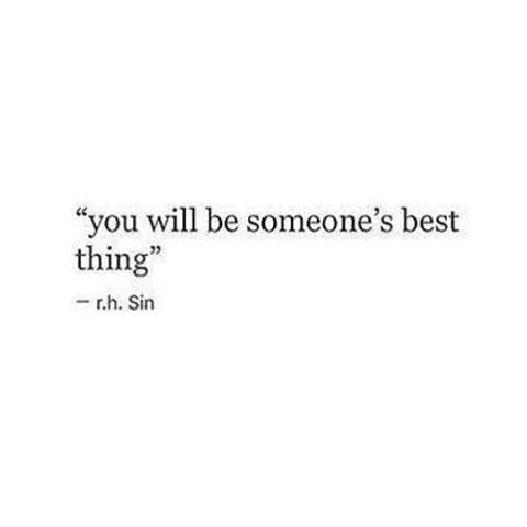 You'll be the best dam thing ✨💪🏼❤