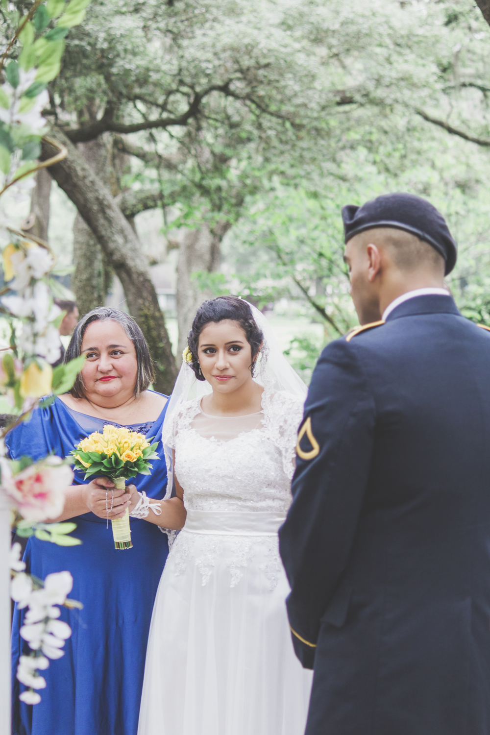 Laura + Kelvin - Tampa Wedding Photography - Tampa Wedding Photographer - Emily & Co Photography - Military Garden Wedding
