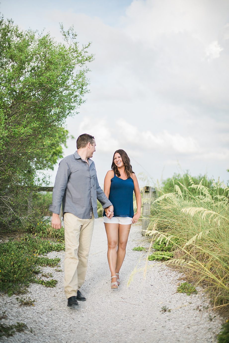 Alicia + Matt - Sarasota Engagement Photography - Sarasota Florida Beach Engagement Session - Emily & Co. Photography