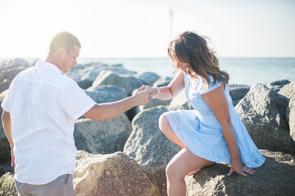 Trina + Brian - Fort Desoto Engagement - Sarasota Engagement Photography - Sarasota Florida Beach Engagement Session - Emily & Co 6.jpg