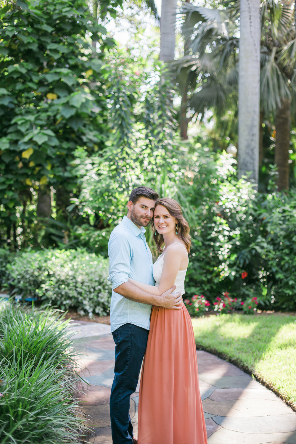 Kalli + Ryan - St. Pete Wedding Photographer - Sunken Gardens Engagement Photography - Preview Photos - Emily & Co. Photography (12).jpg