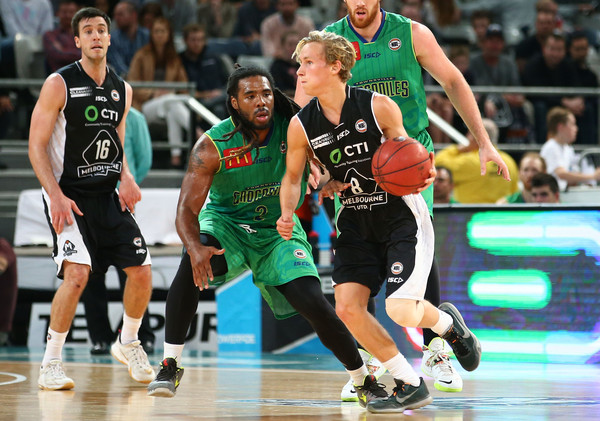Kyle doing what he does best with Melbourne United in the NBL.
