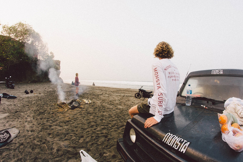 6AM // We hired this crazy old truck and pretty much ran it into the ground. The old girl saw a lot of sand...