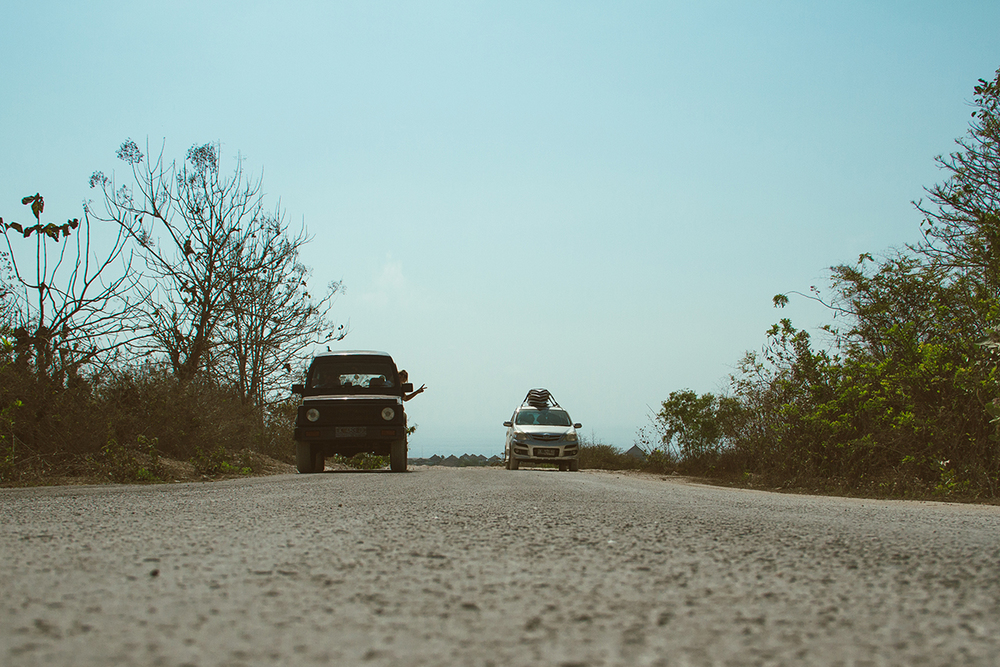 On the road again... //