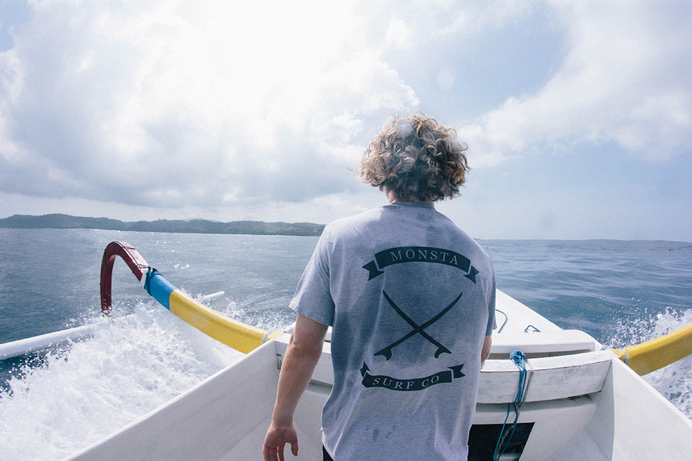 Sailing to different islands //