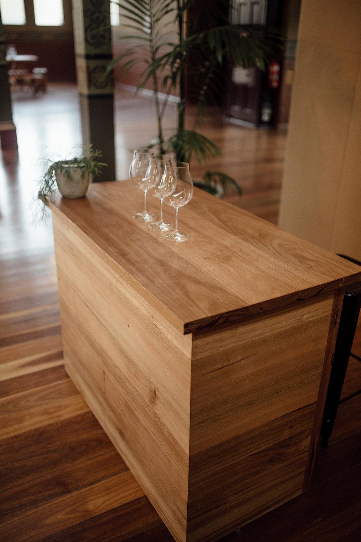 Hardwood Bar - Tassie Oak