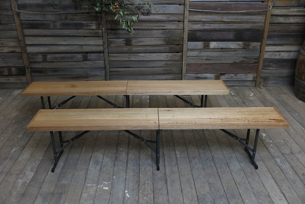 Fold out Bench Seat - Tassie Oak