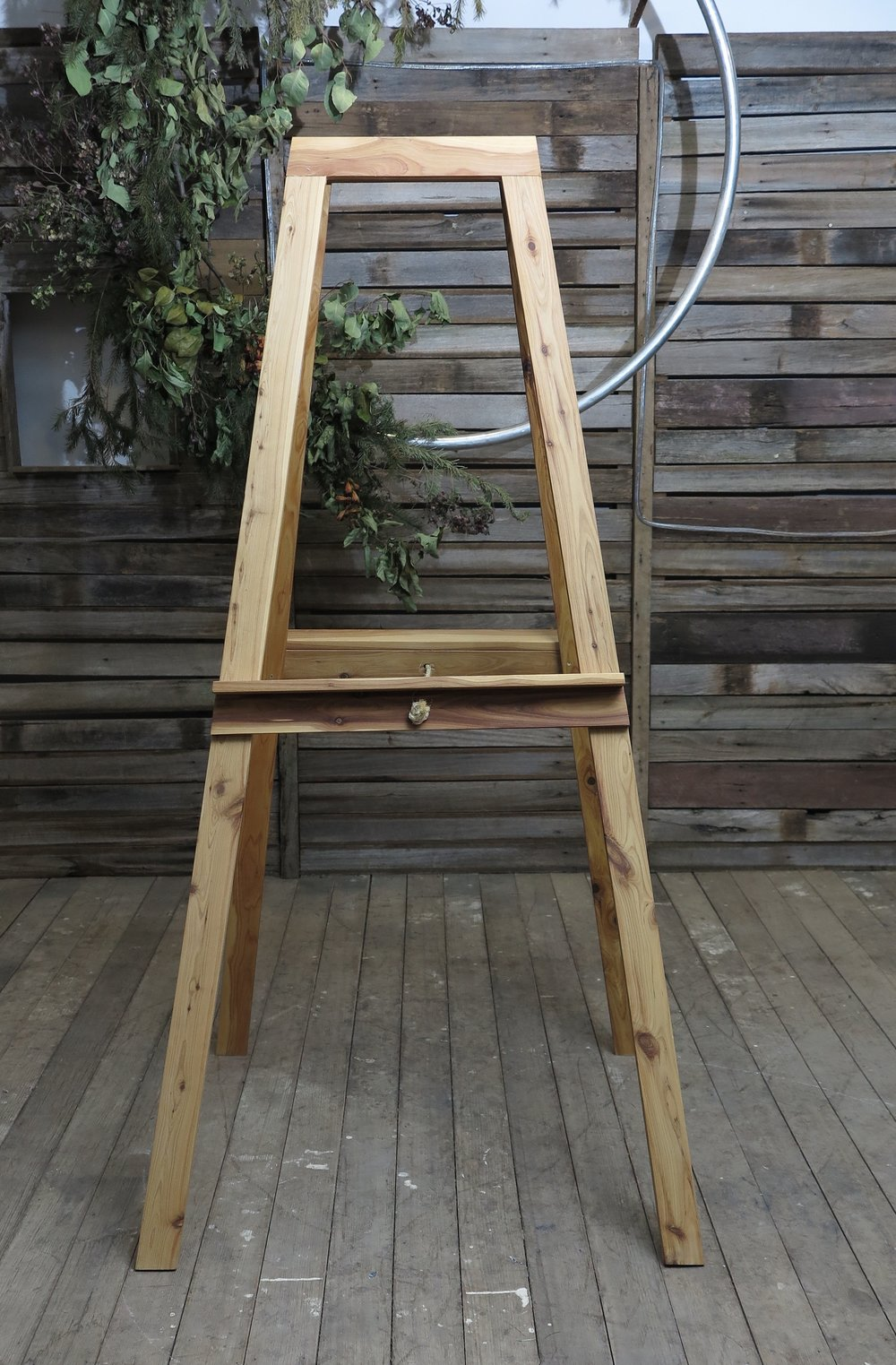 Wooden Easel - Timber - Large