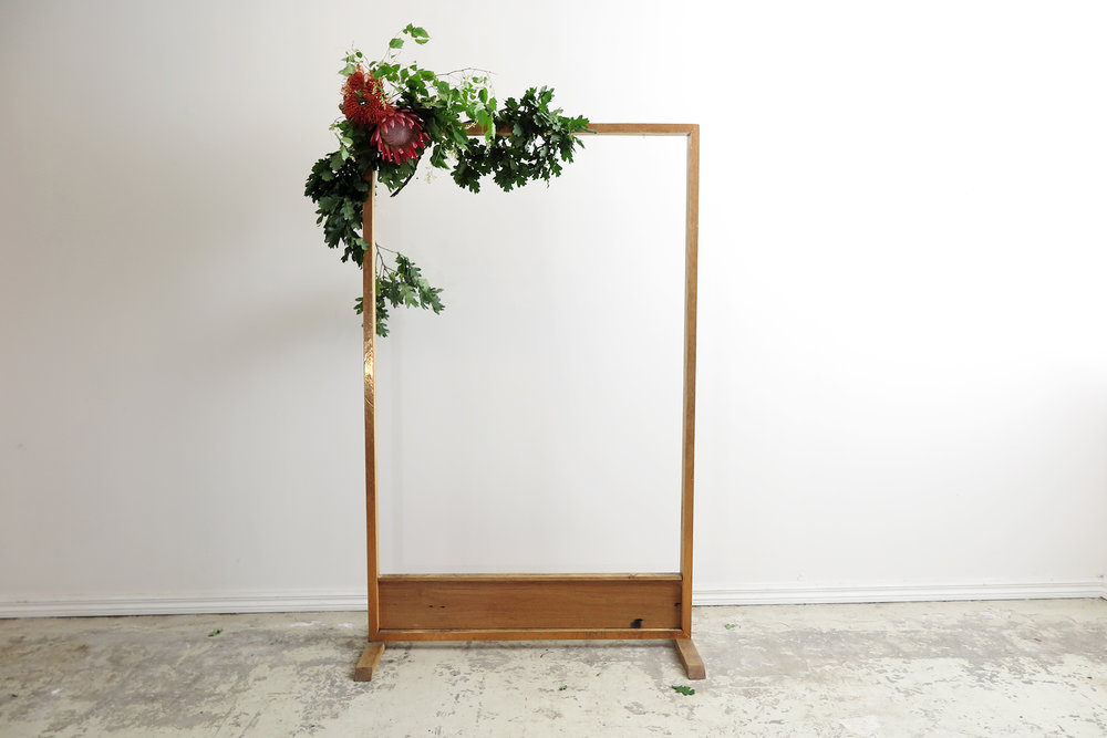 Wooden Frame for signage or florals