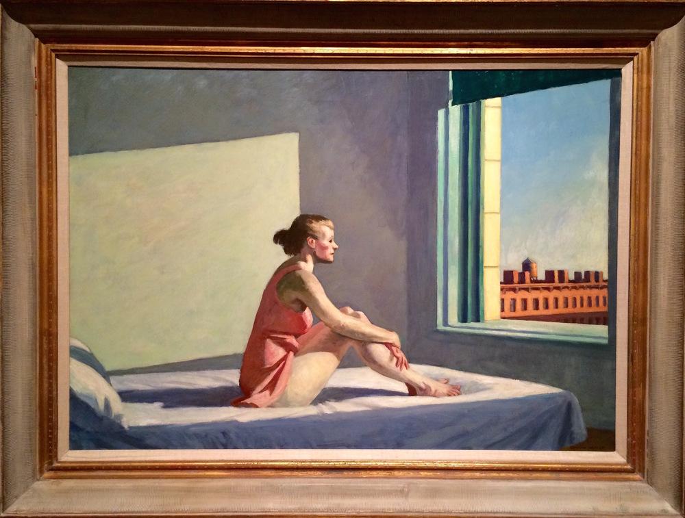 """Edward Hopper, """"Morning Sun"""" (1952)"""