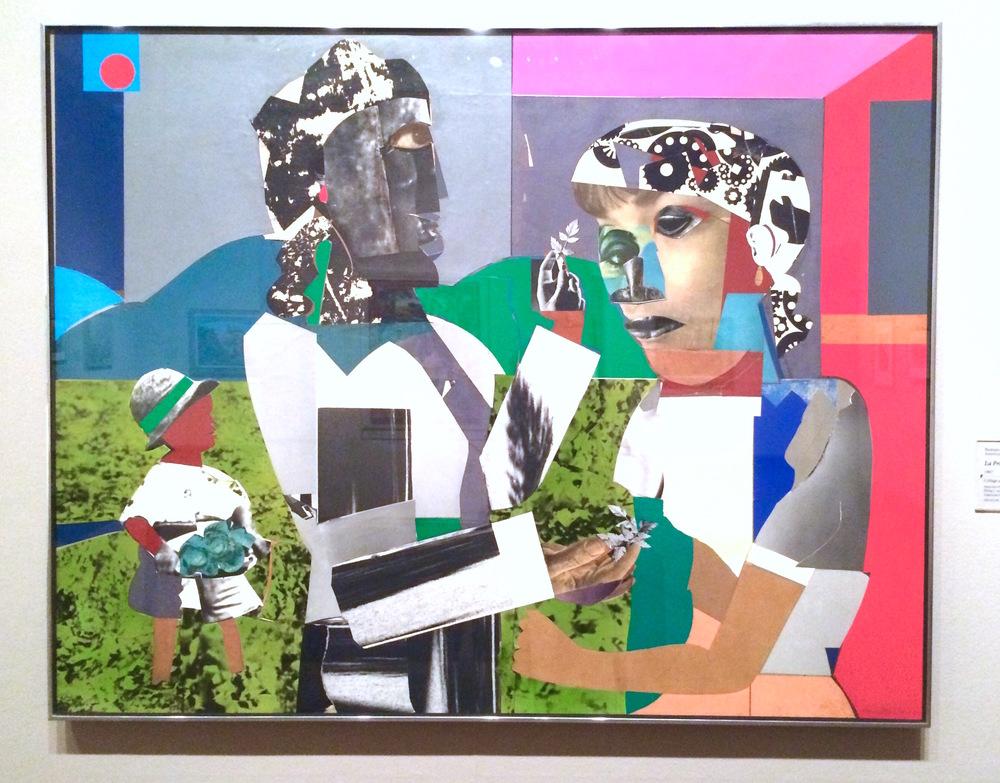 """Romare Bearden, """"La Primavera"""" (1967)"""
