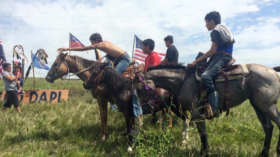 North Dakota Standing Rock Sioux Aren't Backing Down — Sarah