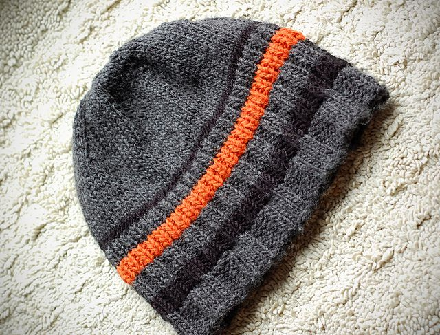 3. Striped Beanie