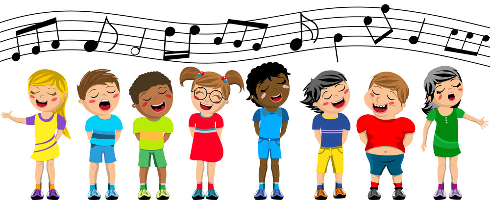 Image result for children's choir clipart moving