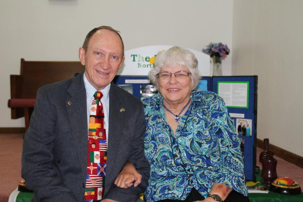 Bill and Mary Horton -