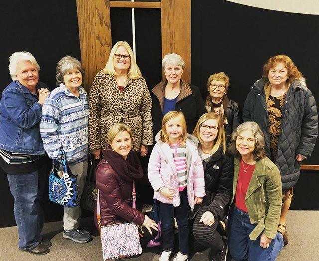 Part of our ladies minsistry supporting each other at a school play! #Multigenerationalchurch #CrossroadsBaptist #BaptistChurchesWichita #wichitachurches #allageswelcome #loveoneanother
