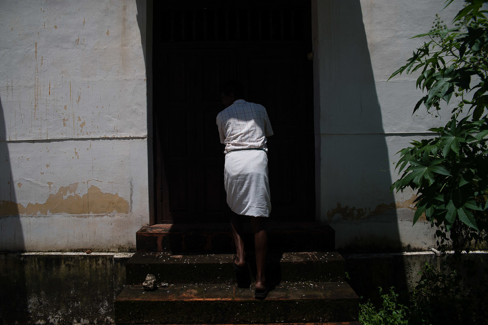 The Mala Synagogue outside of Kochi needs to be opened by a government official. It is otherwise closed to the public.