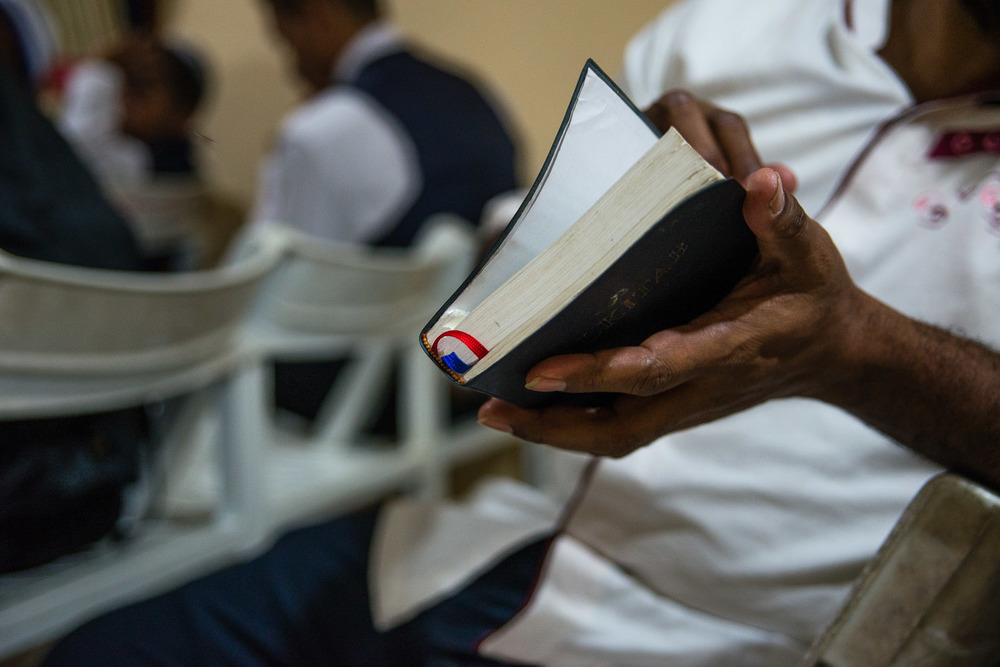 Harun explains that after the Jewish community left behind the Messianic church (a church designed to look and feel like Judaism while still believing in Jesus), all the new Jews ripped out the New Testament from their Bibles so they could continue to use the Old Testament in Jewish services.
