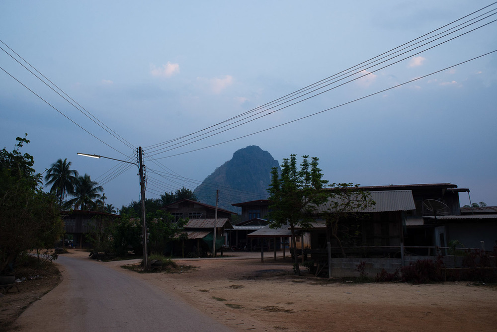 The village of Gok Sathon, known commonly as Fack Huay, was one of the hardest hit by chemical runoff, allegedly from Tungkum Ltd.'s gold mine. A high proportion of villagers complain of poor health and failing crops.