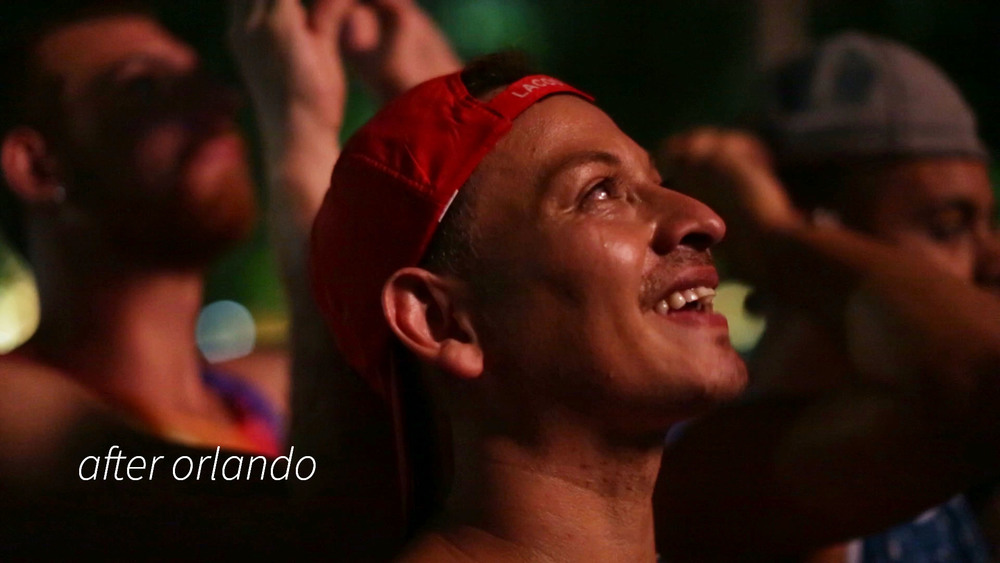 A month after the Orlando massacre, three friends who survived the attack begin the road to recovery. In English and Spanish with English subtitles.