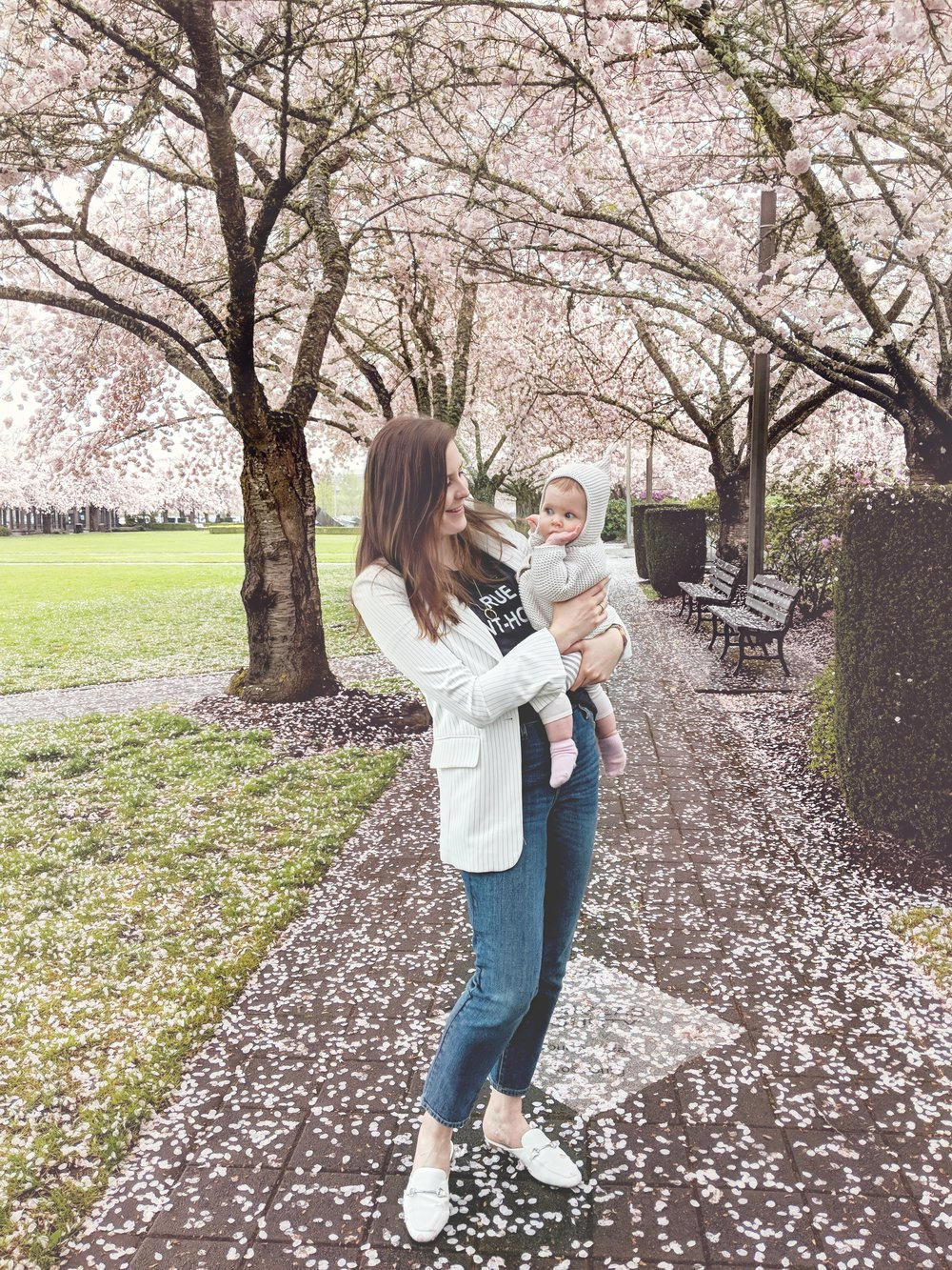 Cherry Blossoms Mama and Baby StyleByJulianne 2018