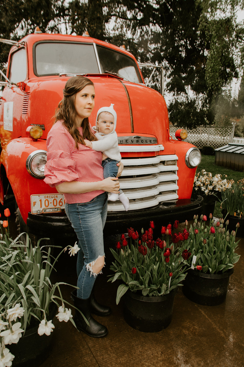 StylebyJulianne Tulip Festival Red Truck With Stella