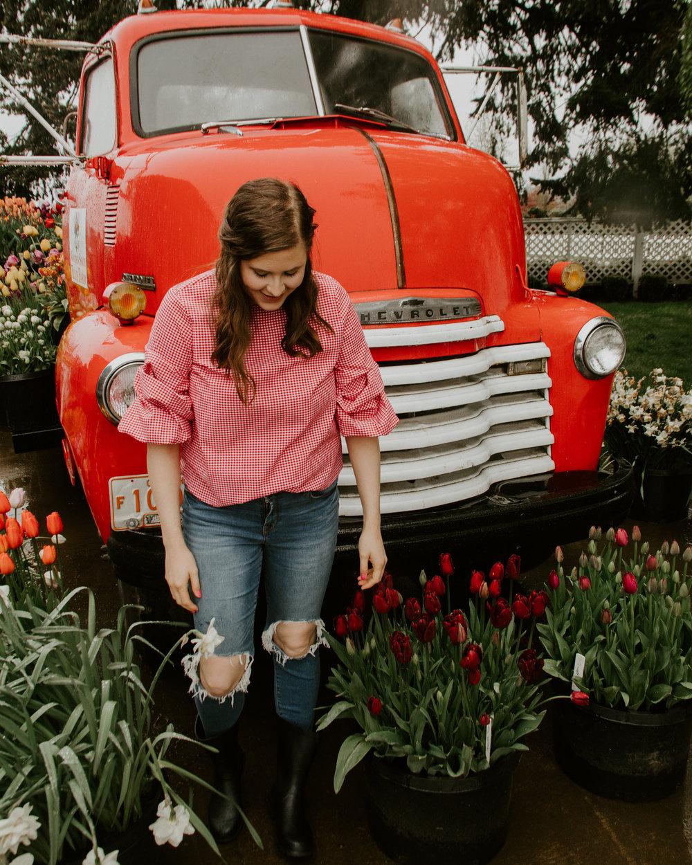 StylebyJulianne Tulip Festival Red Truck