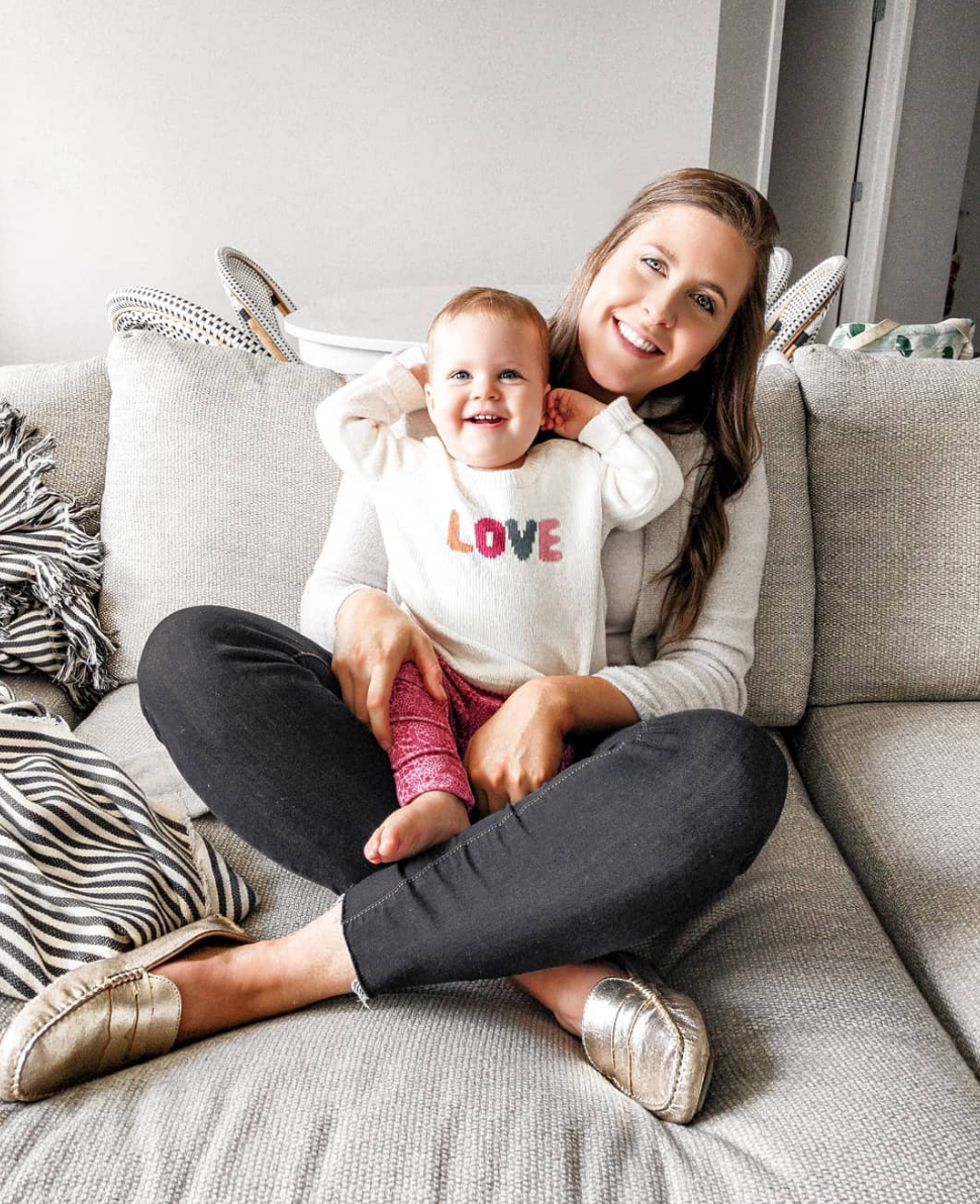 Baby Style - I worked with Gymboree this month and Stella was loving her new look! Everything on the Gymboree site is on sale for the weekend too! Baby's look linked:SWEATER // LEGGINGS //