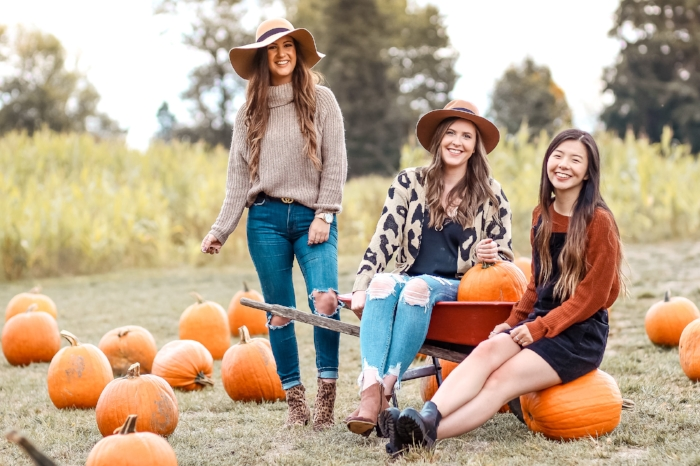 Bloggers at the Pumpkin Patch
