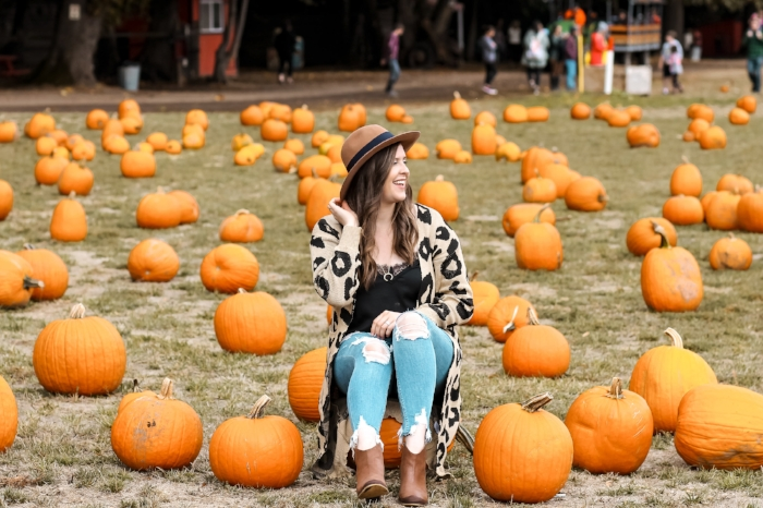 Fall Pumpkin Patch Outfit Style by Julianne 2018