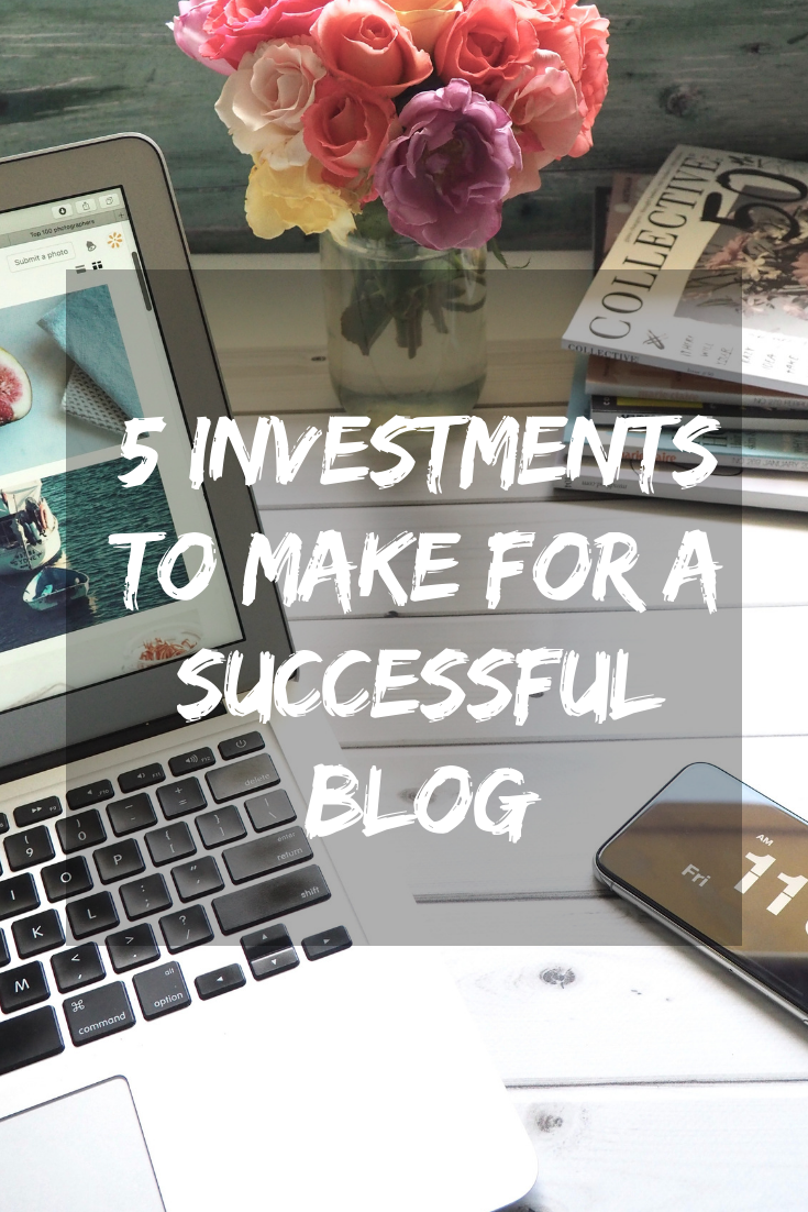 5 investments to Make for a Successful blog in 2018 Stylebyjulianne.com