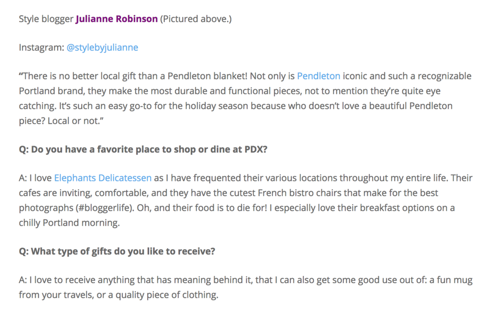 PDX Holiday Interview Style by Julianne 2018