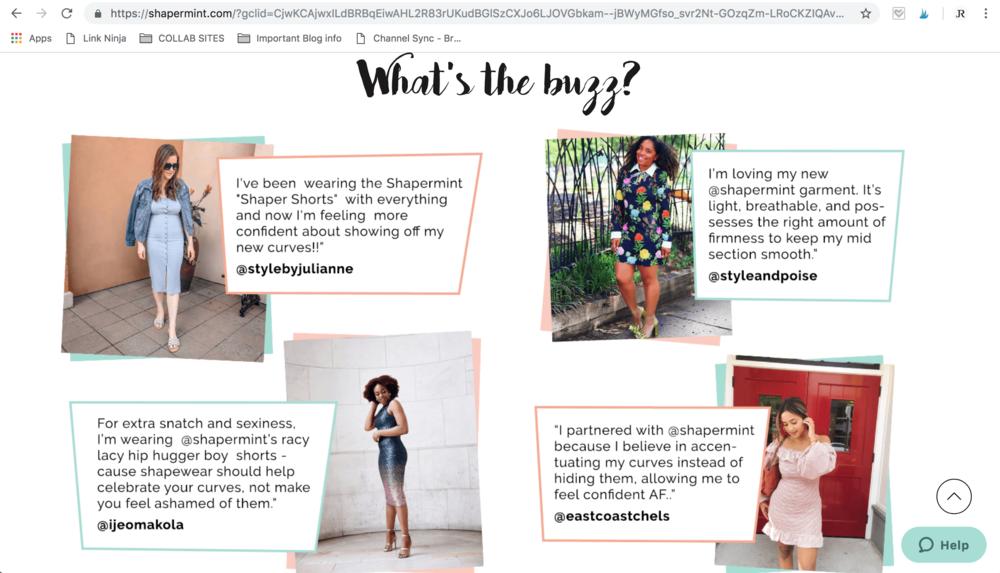 Shapermint Article Shapewear Style by Julianne Summer 2018