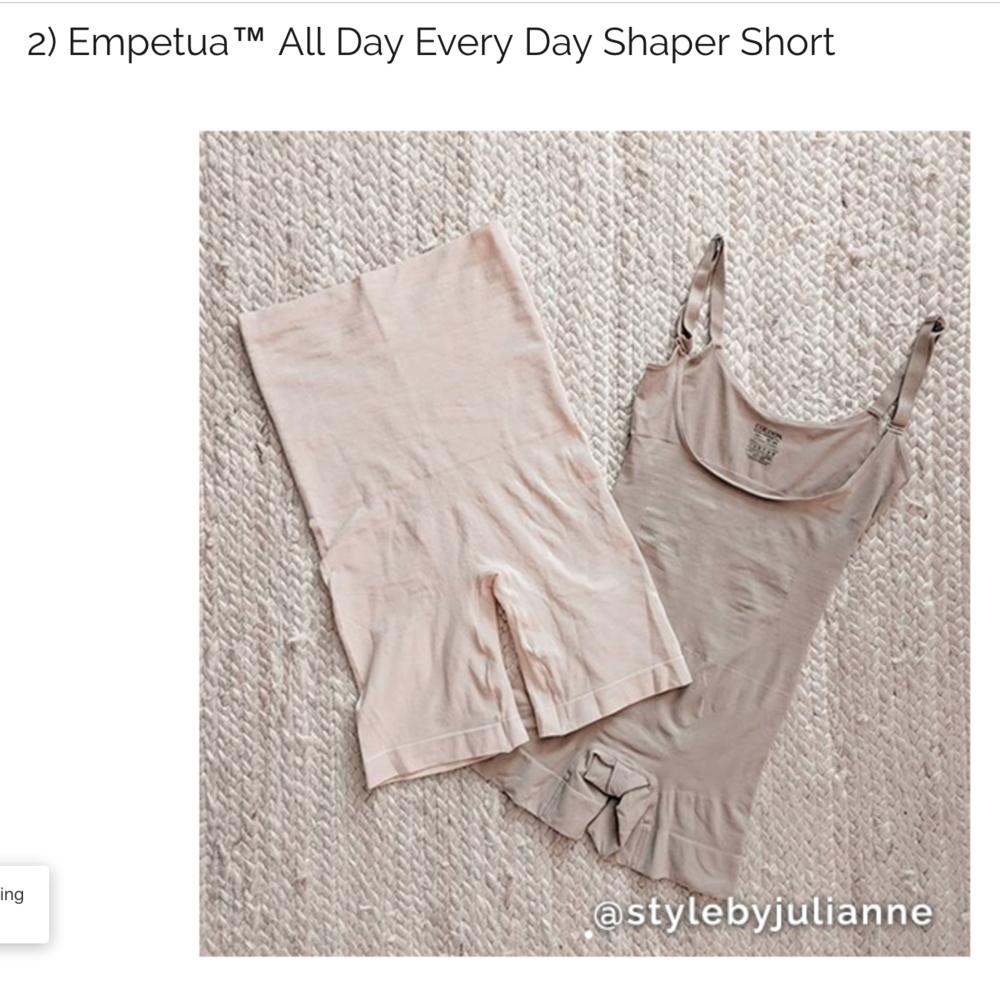 Shapermint Summer Shapewear Style by Julianne Summer 2018