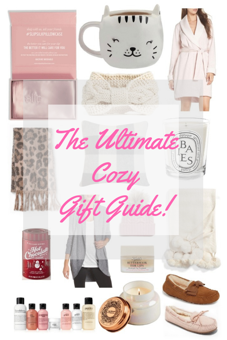 Ultimate Cozy Gift Guide Style by Julianne Holiday 2018