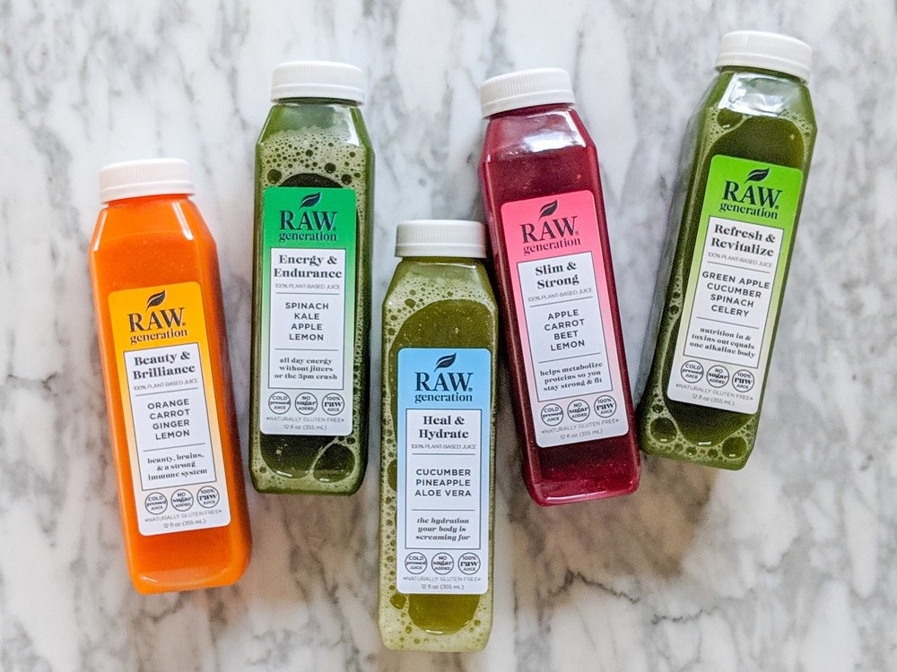 Raw+Generation+5+Day+Juice+Cleanse