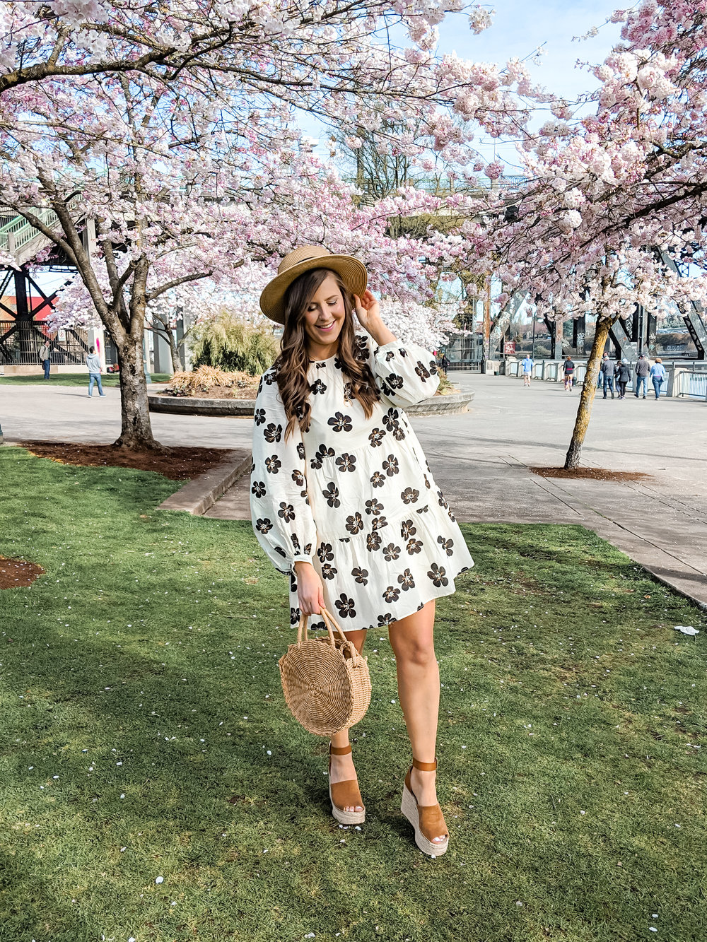 Who What Wear Floral Dress