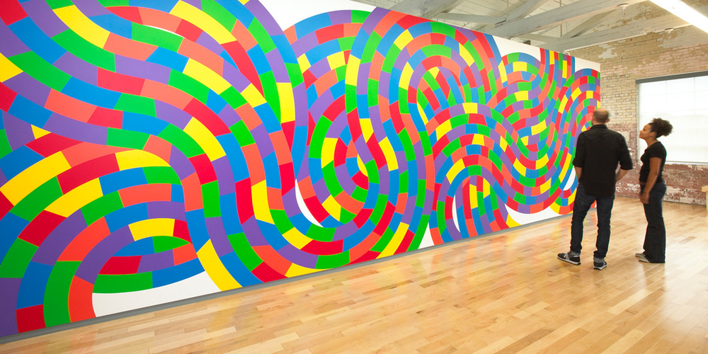Sol LeWitt Gallery | Photo credit - MASS MoCA