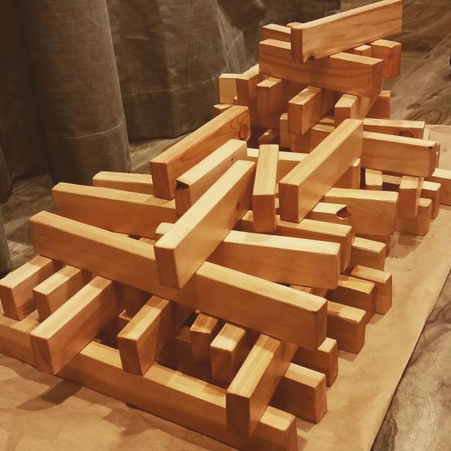 Moving prep - jenga blocks for my new apt. 🏠🏠🏠 #bobthebuilder #imbob #sugarhouseimcomin