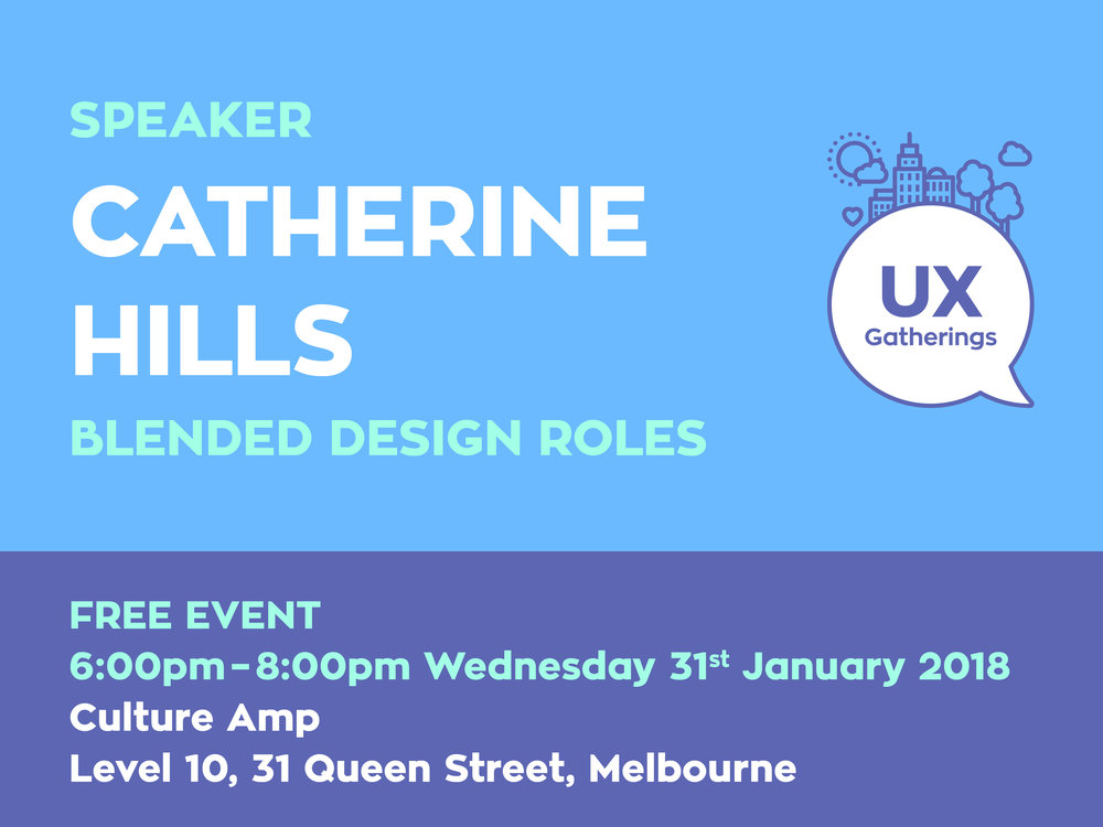 Catherine HIlls Blended Design Roles