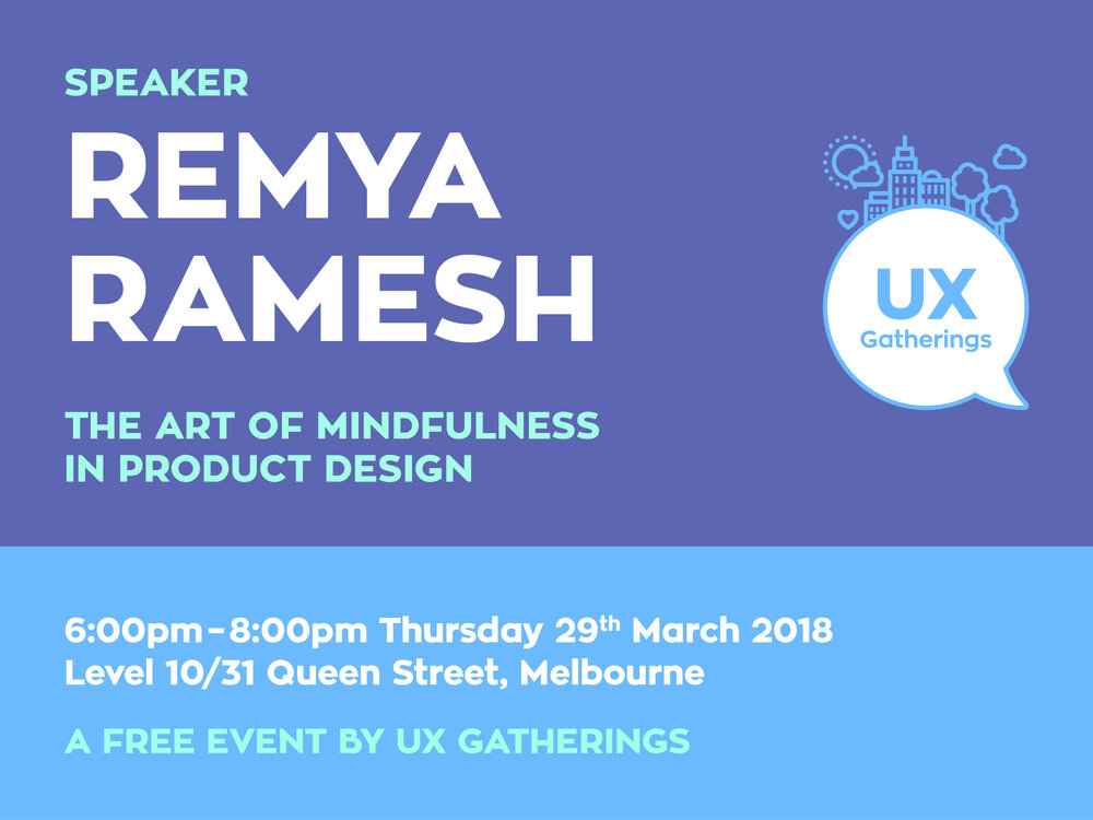 Remya Ramesh, The Art of Mindfulness in Product Design