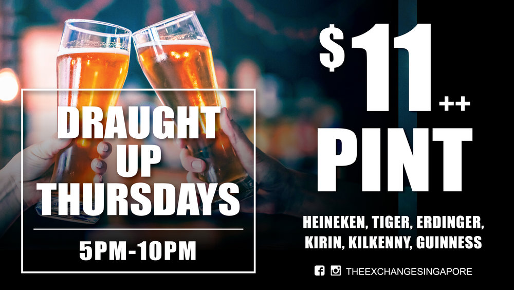 Draught Up Thursdays