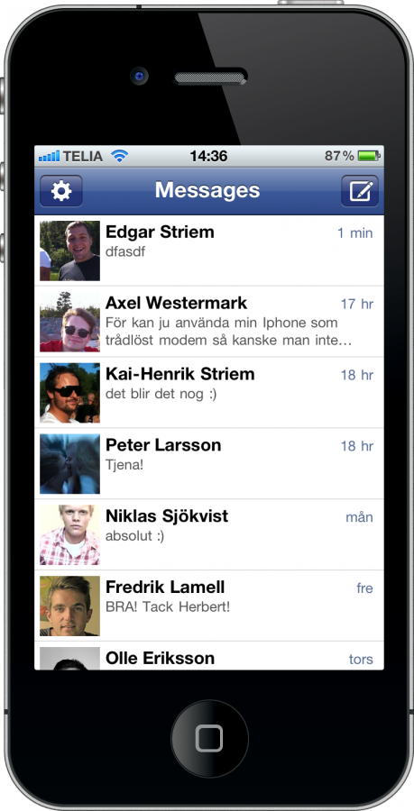 facebook messenger for iphone messenger for iphone and poor user experience 7165