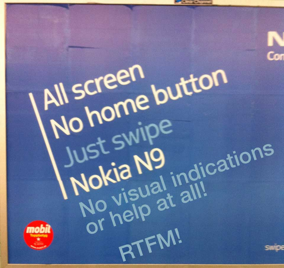 Nokia N9 marketing