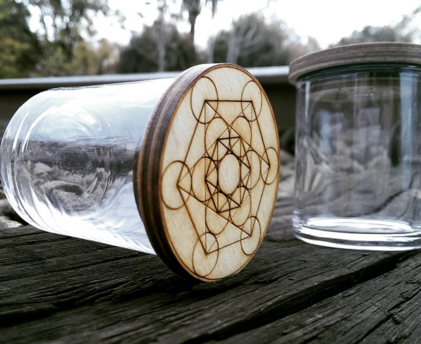 Sacred Geometry Jar