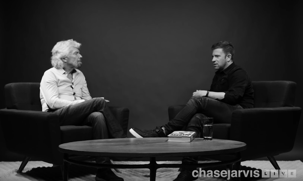 Richard Branson & Chase Jarvis