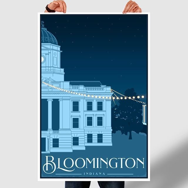 Oh the places you'll go...and stay... and LOVE #bloomington #btown @visitbtown #mycity