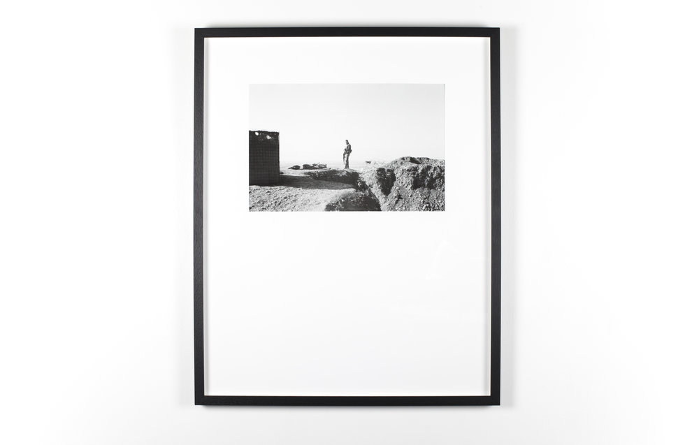 12. The Sentry, the mortars 600mm x 750mm Inkjet print on Hahnemule archival paper (scanned from 35mm negative) editions of 3 — sold out