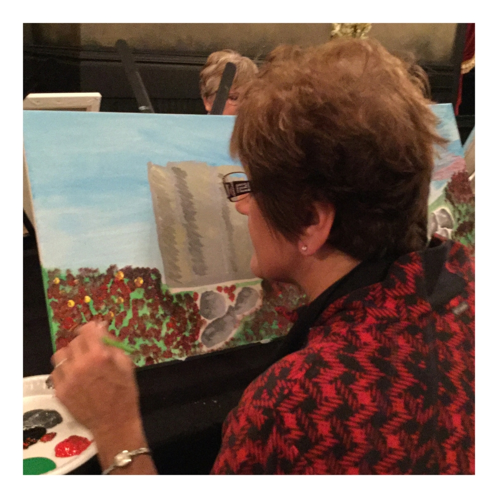 Tycoons Paint night